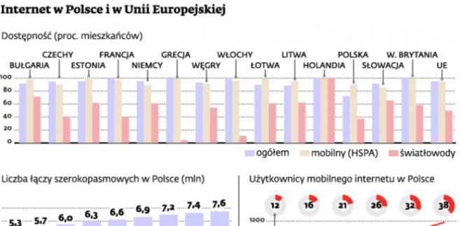 Internet w Polsce i w Unii Europejskiej