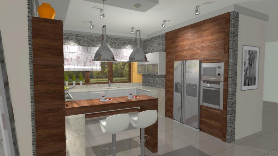 Nowoczesna i industrialna aranżacja kuchni  zdjęcie 3  Nieruchomości  ryne   -> Nowoczesna Kuchnia Industrialna