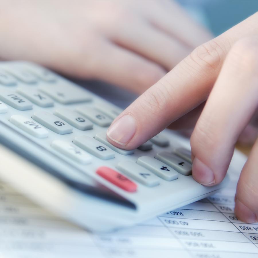 Kalkulator, podatki