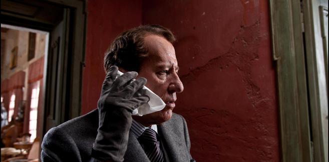 "Geoffrey Rush w filmie ""Koneser"""