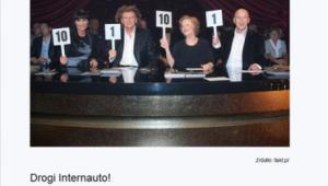 Po zapłaceniu 20 zł plus VAT zamiast liczby punktów karnych serwis wyświetla zdjęcie z uwagą, że trzeba czytać regulamin