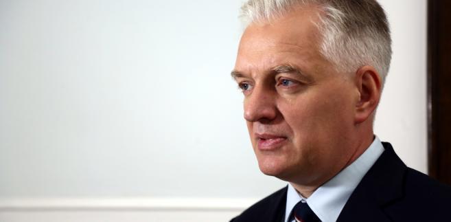 Jarosław Gowin PAP/Tomasz Gzell