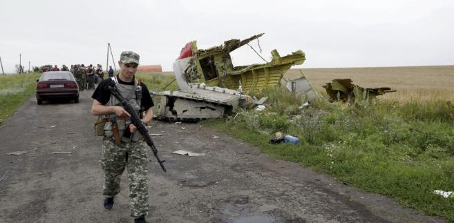 Boeing malezyjskich linii lotniczych został zestrzelony nad Ukrainą 17 lipca  EPA/ANASTASIA VLASOVA/PAP