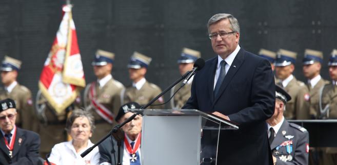 Bronisław Komorowski PAP/Tomasz Gzell