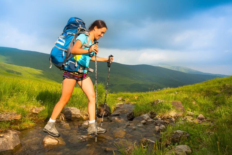 trekking, góry, wakacje, urlop, turystyka