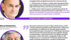 Prezesi samorządów prawniczych o dopuszczeniu radców prawnych do obron karnych