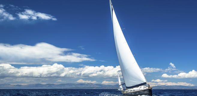 żeglarstwo, jacht, lato, woda, wakacje