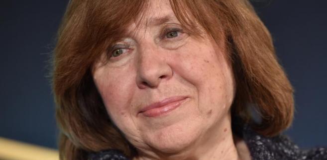 Tegoroczna laureatka Literackiej Nagrody Nobla, białoruska pisarka i dziennikarka Swietłana Aleksijewicz
