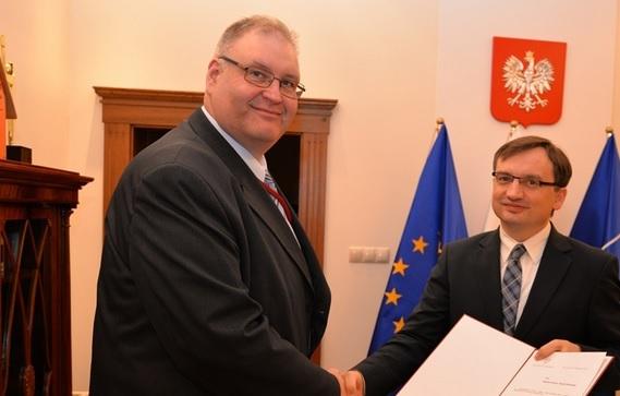 Zbigniew Ziobro i Bogdan Święczkowski