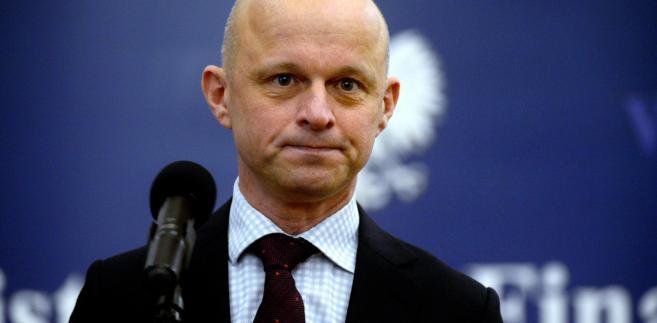 Szałamacha, minister finansów