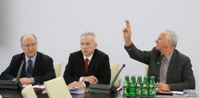 Stanisław Gogacz, senator PO Jan Rulewski i Michał Seweryński