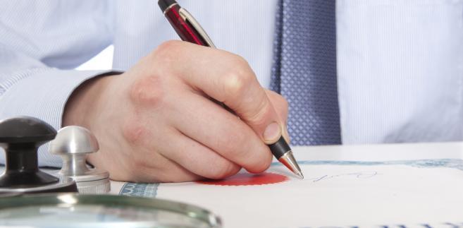 podpis, biznes, firma, prawo, dokument