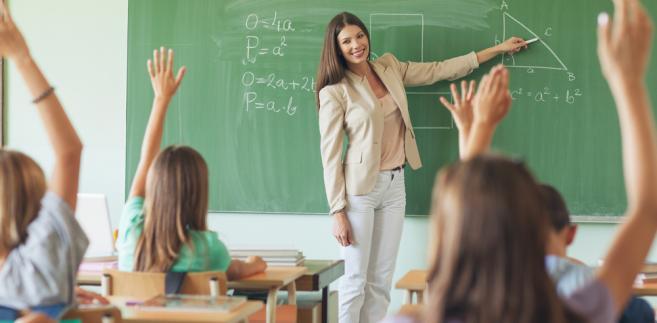 nauczyciel, szkoła dzieci