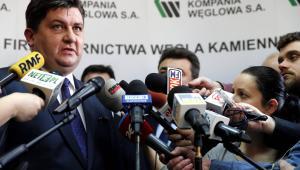 Tomasz Rogala od 24 lutego pełnił funkcję prezesa Kompanii Węglowej.