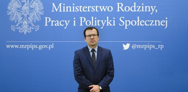 Prof. Marcin Zieleniecki, wiceminister rodziny, pracy i polityki społecznej, przewodniczący komisji kodyfikacyjnej prawa pracy
