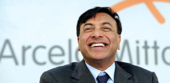 Lakshmi Mittal, prezes spółki ArcelorMittal.