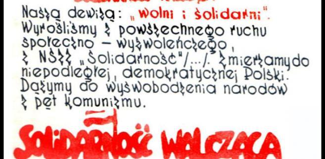 Solidarność Walcząca