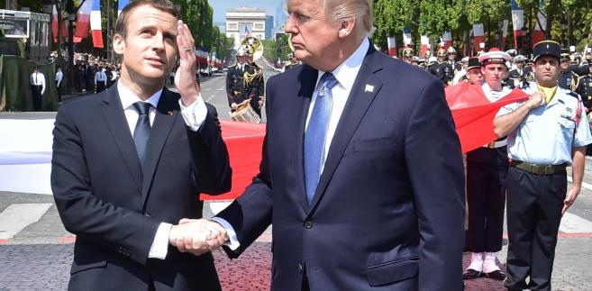 Macron zrobił wszystko, aby Trump czuł się dobrze w Paryżu