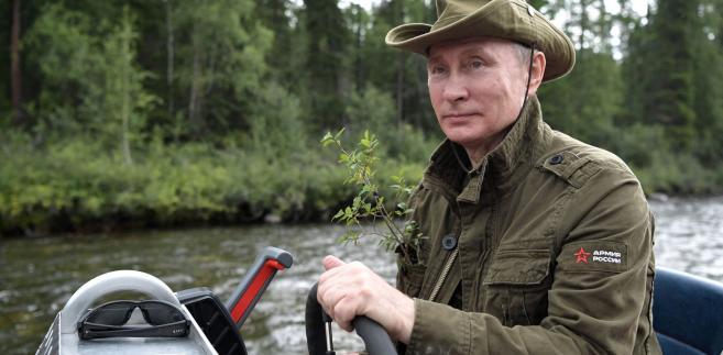 Władimir Putin na urlopie