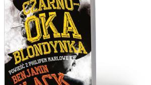 """""""Czarnooka blondynka"""" Benjamina Blacka ukazała się nakładem wydawnictwa Albatros w przekładzie (świetnym) Pawła Lipszyca"""