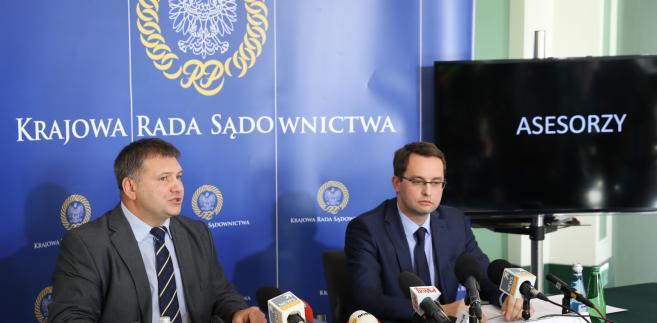 Waldemar Żurek i Sławomir Pałka