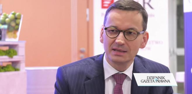 Morawiecki: W grudniu pakiet dotyczący likwidacji zatorów płatniczych
