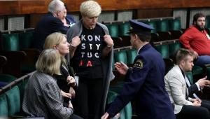 Interwencja Straży Marszałkowskiej, o której mówił Borys Budka