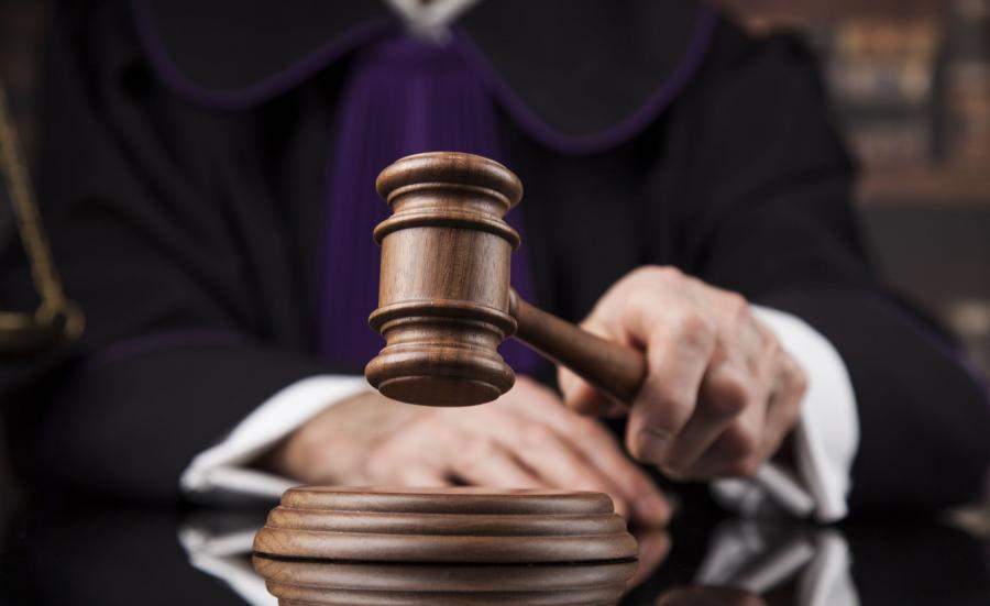 Młotek sędziowski Sędzia