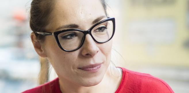 Katarzyna Szymielewicz. Fot.: Daniel Seiffert/Fundacja Panoptynon