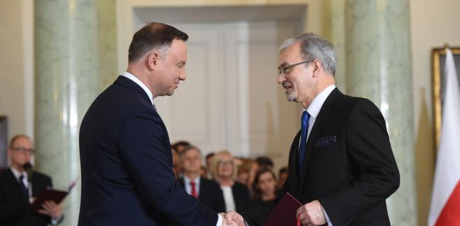 Prezydent Andrzej Duda  powołuje Jerzego Kwiecińskiego na stanowisko ministra inwestycji i rozwoju.