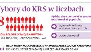Wybory do KRS w liczbach