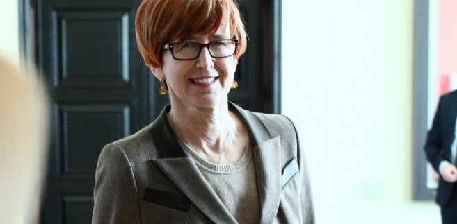 Minister pracy, rodziny i polityki społecznej Elżbieta Rafalska