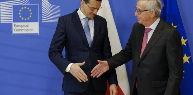 Mateusz Morawiecki, Jean-Claude Juncker