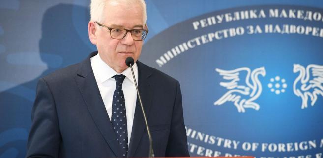 Ministrer spraw zagranicznych Jacek Czaputowicz