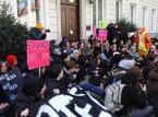 Protest studentów przeciwko zaostrzeniu ustawy antyaborcyjnej. Starcia z policją w Warszawie
