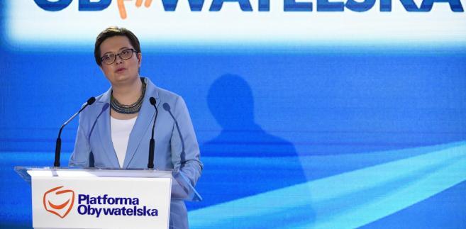 """W swoim wystąpieniu podczas konwencji mazowieckiej PO i Nowoczesnej Lubnauer podkreśliła, że samorządy to """"wielki sukces Polski""""."""
