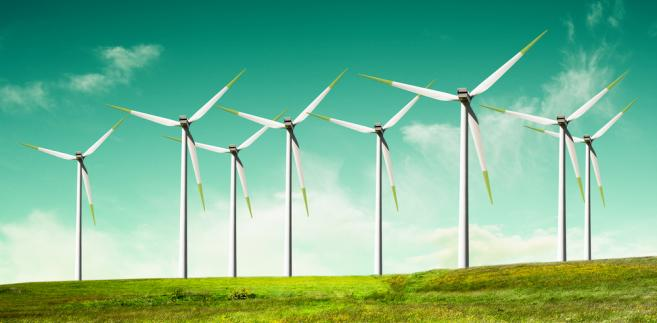 W 2015 r. produkcja prądu z wiatru wzrosła o 40 proc.
