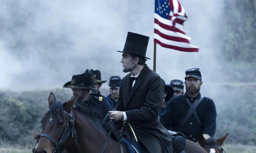 "Daniel Day-Lewis w filmie ""Lincoln"""