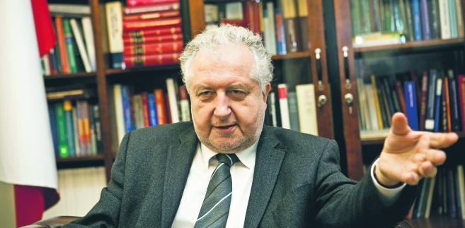 Prof. Andrzej Rzepliński, prezes Trybunału Konstytucyjnego