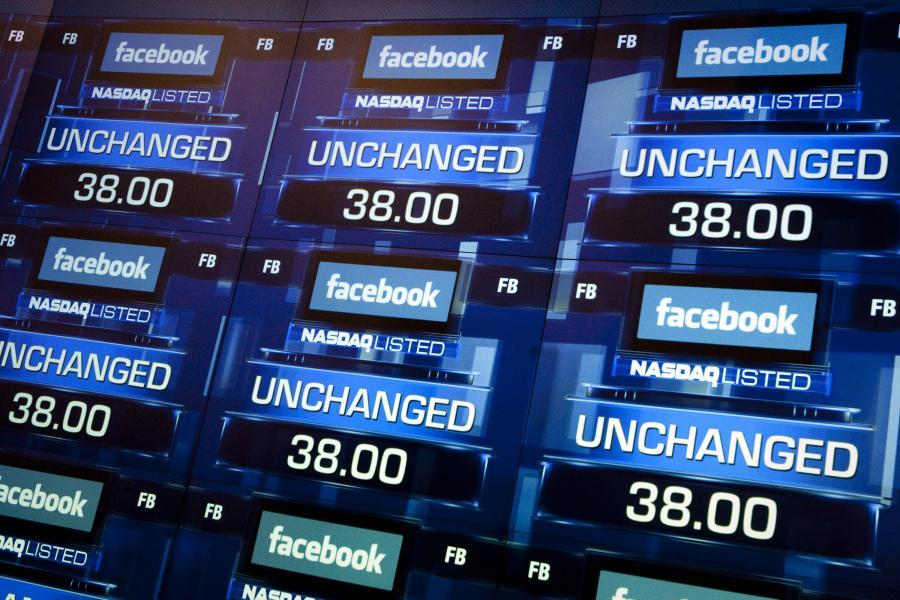 facebook, giełda