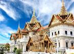 14. miejsce: Bangkok – stolica Tajlandii i najczęściej pierwsze miasto, które widzą turyści po przybyciu do Tajlandii. Chociaż turystów do Tajlandii przyciągają przede wszystkim rajskie plaże, warto zatrzymać się w Bangkoku chociaż kilka dni, ponieważ na jego terenie znajduje około 400 bogato zdobionych świątyń buddyjskich i hinduistycznych. Dzienny koszt pobytu w Bangkoku można zamknąć w kwocie 24.12 USD.
