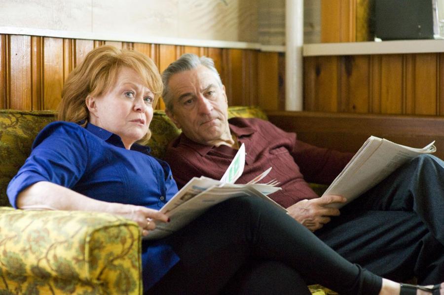 """Jacki Weaver i Robert De Niro w filmie """"Poradnik pozytywnego myślenia"""""""