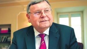 Profesor Jerzy Woźnicki, prezes Fundacji Rektorów Polskich