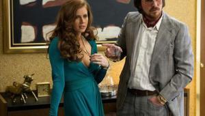 Amy Adams i Christian Bale American Hustle