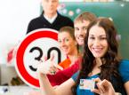 Od czasu zmian spadła liczba osób zdających egzamin na prawo jazdy