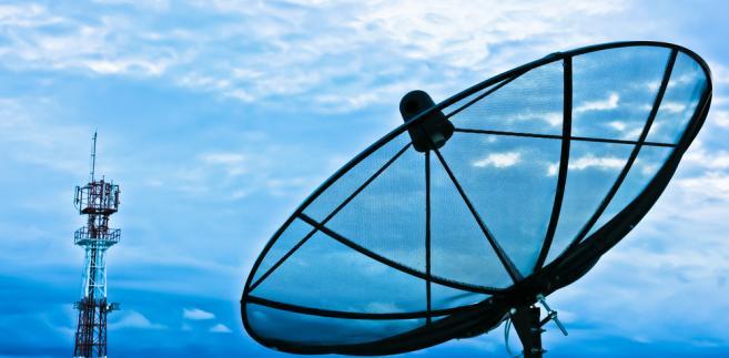 antena satelitarna-internet