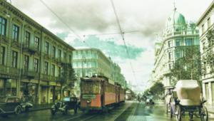 """Kadr z filmu """"Warszawa 1935"""" współfinansowanego przez markę LOTTO"""