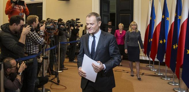 Premier Tusk przedstawił nowych ministrów.