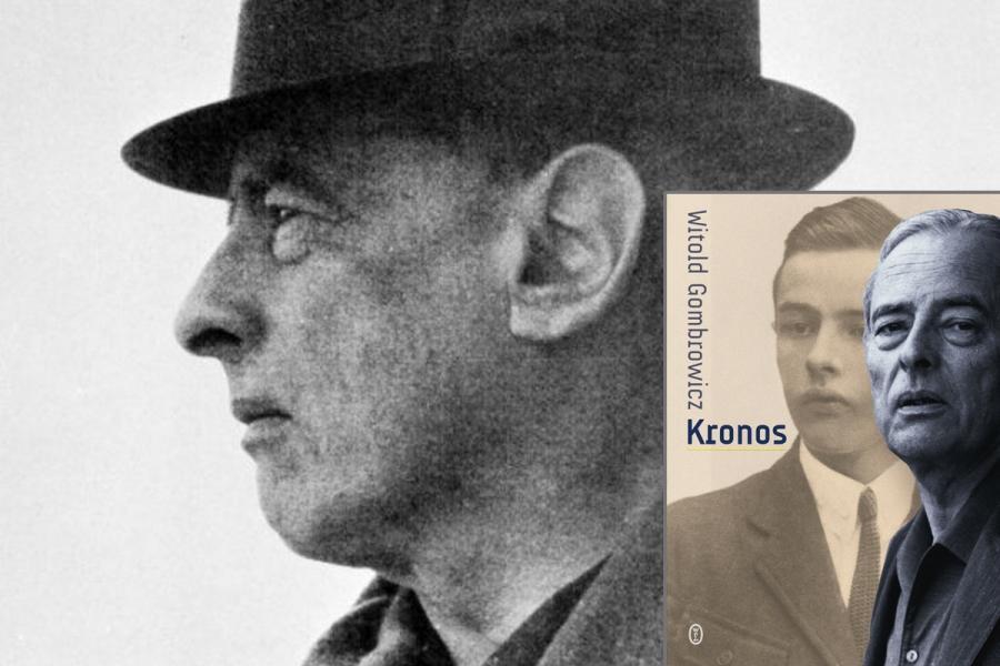 """Witold Gombrowicz """"Kronos"""", Wydawnictwo Literackie"""