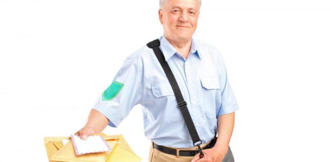 listonosz, poczta